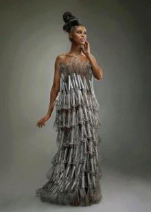Платье из венчиков