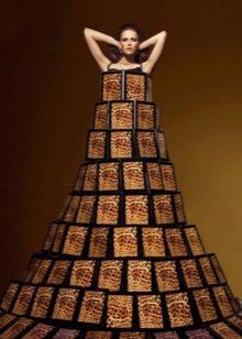 Платье из планшета