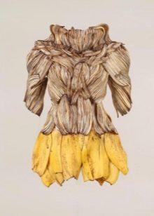 Платье из банана