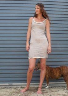 Платье-майка для женщин с фигурой песочные часы