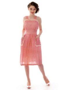 Платье-сарафан из бязи