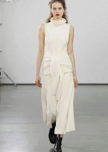 Акриловое платье