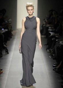 Шерстяное платье длинное без рукав