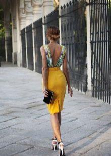Платье в пол летнее футляр
