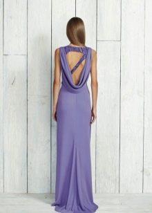 Платье с вырезом в виде треугольника