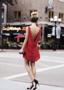 Платье в пол летнее бордовое