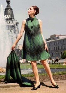 Платья трапециевидной формы в стиле 60-х для женщин с фигурой Прямоугольник