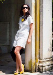 Платье-рубашка в стиле 60-х для высоких женщин