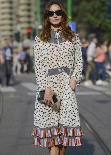 Платья в стиле 60-х (хиппи) для стройных женщин