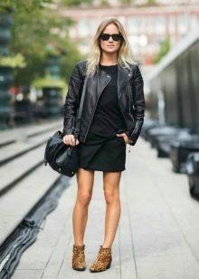Куртка к платью в стиле 60-х