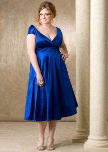 Платье в стиле ампир для полных