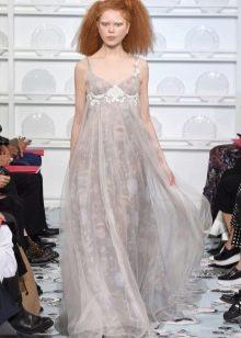 Платье в стиле ампир вечернее