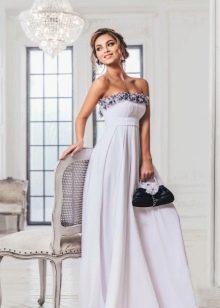 Платье в стиле ампир повседневное