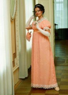 Платье в стиле ампир для бала