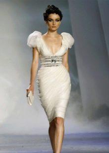 Платье в стиле ампир до колена