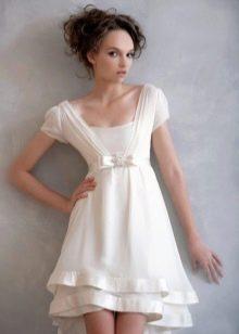 Платье в стиле ампир короткое
