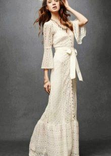 Платье  в стиле ретро кружевное