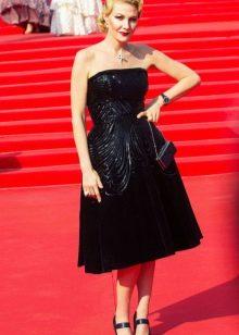 Рината Литвинова в ретро платье пышном