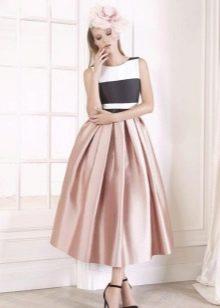 Платье  в стиле ретро на выпускной