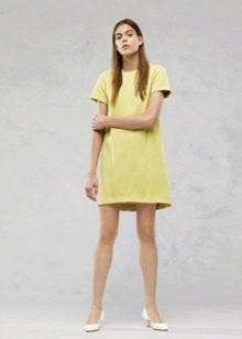 Платье в стиле ретро трапеция с рукавом