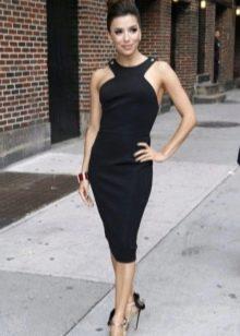 Платье-футляр в стиле ретро Одри