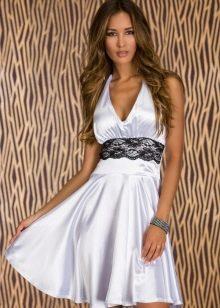 Платье в стиле Монро атласное