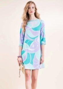 Платье в стиле ретро трапеция