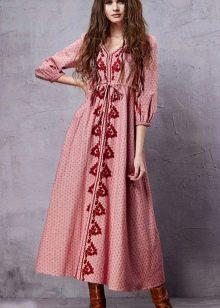 Платье в стиле хиппи