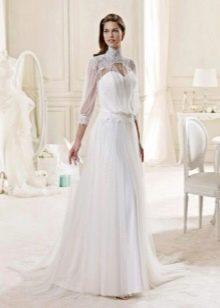 Подвенечное платье со свободным верхом