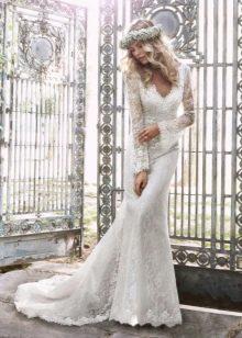 Подвенечное платье кружевное