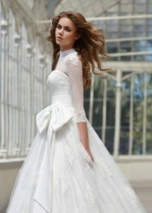 Подвенечное платье пышное