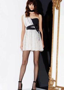 Приталенное  платье летнее мини