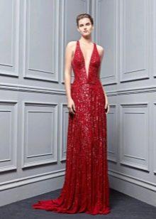 Приталенное  платье бордовое