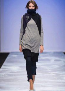 Зимнее платье-туника