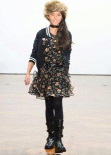 Платье для девочек 9-11 лет дизайнерское