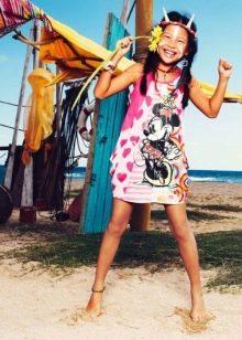 Платье для девочек 9-11 лет летнее