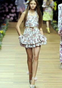 Платье беби-долл для девочек 12-14 лет