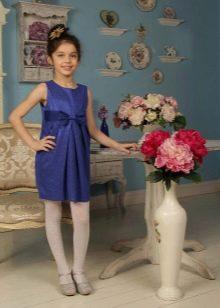 Нарядное платье-футляр для девочек