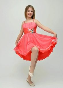 Нарядное платье-бюстье для девочек