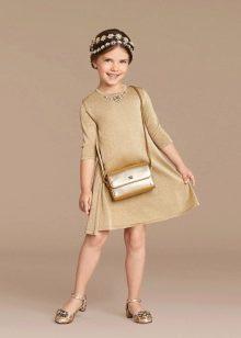 Дизайнерсое платье для девочек 6-8 лет