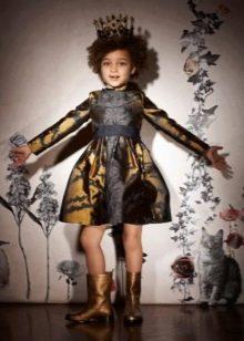 Модное платье для девочек 6-8 лет