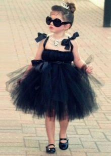 Платье-пачка короткое для девочки из фатина