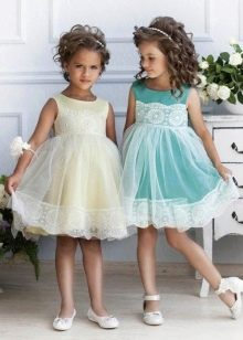 Платье в стиле беби долл для маленькой девочки