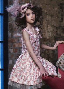 Платье ретро пышное короткое для девочки