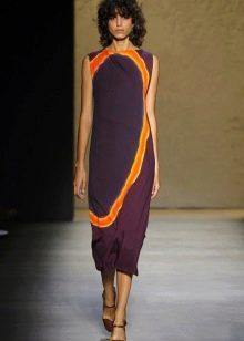 Модное платье простого кроя сезона весна-лето 2016 года