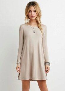Модное платье-трапеция 2016 года