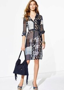 Модное платье-рубашка 2016 года