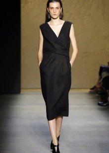 Модное повседневное платье 2016 года