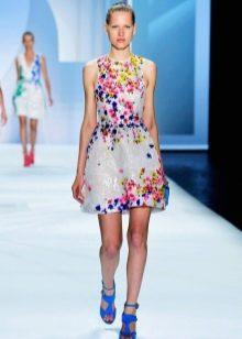Модное летнее платье 2016 года