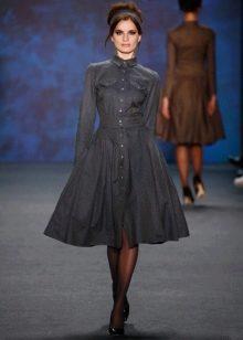 Модное кашемировое платье сезона осень-зима 2016 года